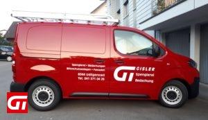 Gisler Spenglerei_neues Firmenfahrzeug